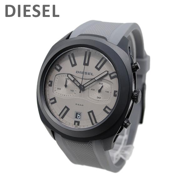 ディーゼル 腕時計 DZ4498 タンブラー グレー ラバー メンズ DIESEL 時計【送料無料(※北海道・沖縄は1,000円)】