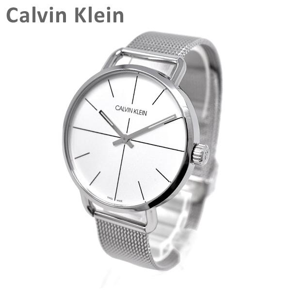 Calvin Klein CK カルバンクライン 時計 腕時計 K7B21126 EVEN EXTENSION シルバー ブレス メンズ ウォッチ クォーツ 【送料無料(※北海道・沖縄は1,000円)】