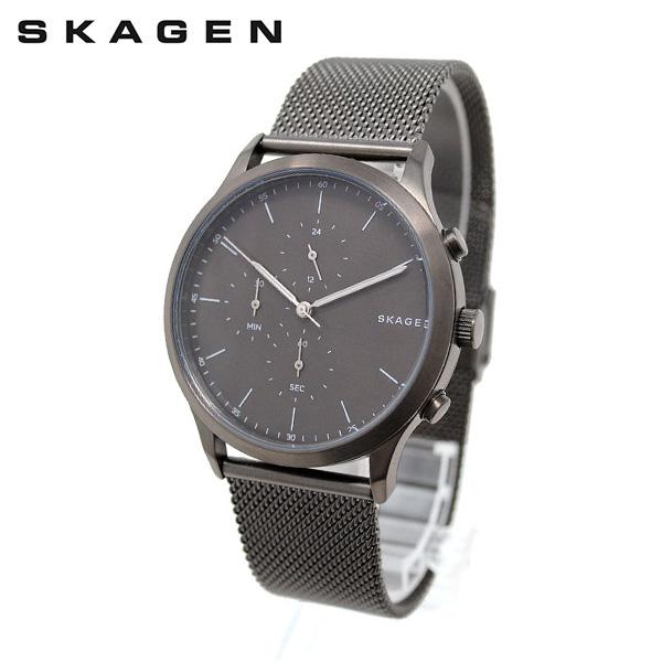 スカーゲン 腕時計 SKW6476 SKAGEN JORN 時計 メンズ ウォッチ ガンメタル ブレス 【送料無料(※北海道・沖縄は1,000円)】
