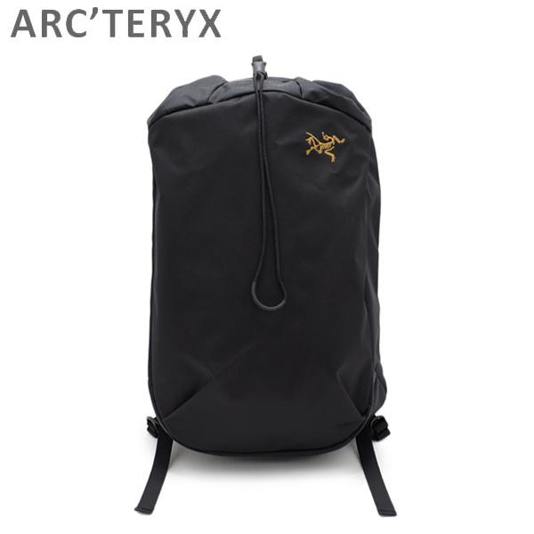 アークテリクス リュック ARRO 20 Bucket Bag 24017 BLACK ARC'TERYX バッグ デイパック バックパック メンズ レディース 【送料無料(※北海道・沖縄は1,000円)】