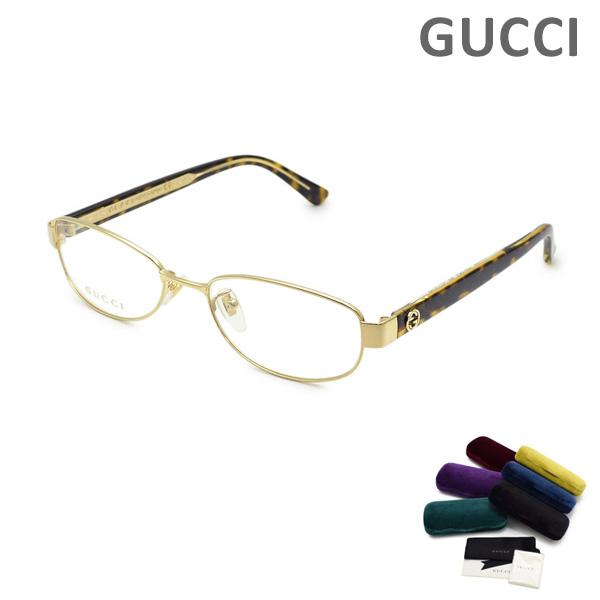 グッチ メガネ 眼鏡 フレーム のみ GG0129OJ-002 ゴールド/ハバナ GUCCI 【送料無料(※北海道・沖縄は1,000円)】