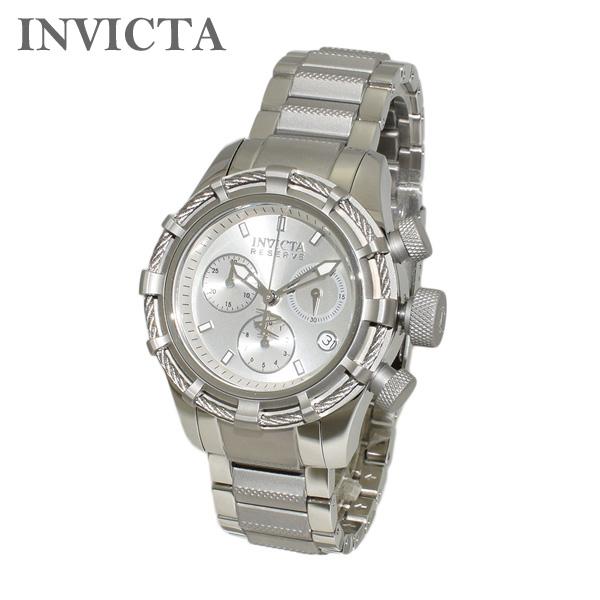 インビクタ 腕時計 INVICTA 時計 12459 Reserve Bolt リザーブ クロノグラフ シルバー ブレス レディース インヴィクタ 【送料無料(※北海道・沖縄は1,000円)】