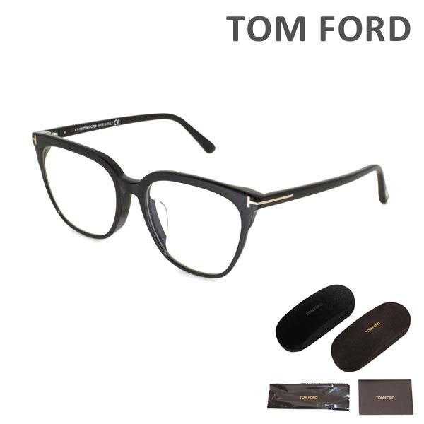 トムフォード メガネ 伊達眼鏡 フレーム FT5599-F-B/V 001 53 TOM FORD メンズ レディース 正規品 アジアンフィット TF5599-F-B 001 【送料無料(※北海道・沖縄は1,000円)】