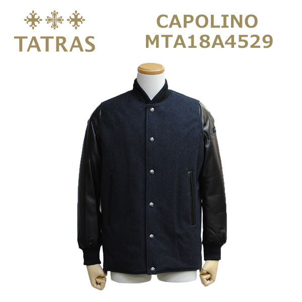 TATRAS (タトラス) ダウンジャケット メンズ MTA18A4529 CAPOLINO NAVY ネイビー コート 【送料無料(※北海道・沖縄は1,000円)】