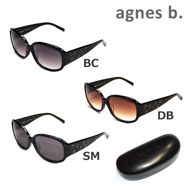 agnes b アニエスベー サングラス 最新 眼鏡 めがね メガネ グラサン 国内正規品 b. 送料無料 000円 レディース アジアンフィット AB-2799SM 奉呈 沖縄は1 AB-2799DB UVカット AB-2799BC ※北海道
