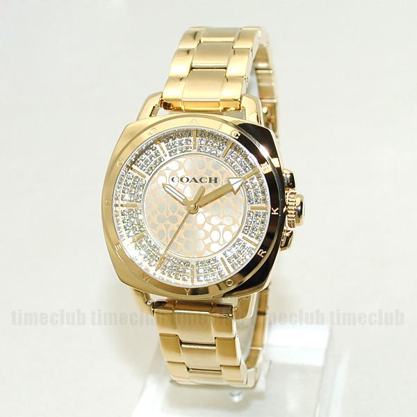 COACH (コーチ) 腕時計 14501994 ブレス ゴールド レディース 時計 ウォッチ 【送料無料(※北海道・沖縄は1,000円)】