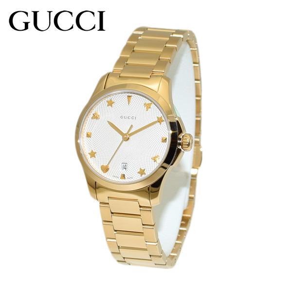 GUCCI(グッチ) 時計 腕時計 YA126576 Gタイムレス ブレス ゴールド レディース 【送料無料(※北海道・沖縄は1,000円)】