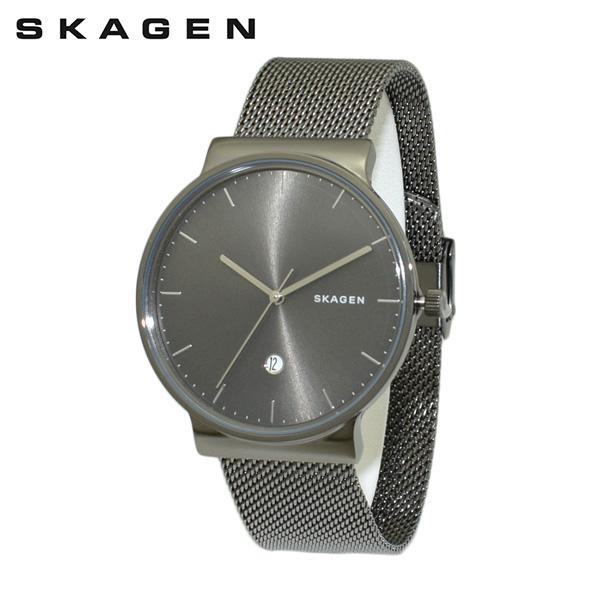 スカーゲン 腕時計 SKW6432 SKAGEN 時計 メンズ ウォッチ ガンメタル ブレス 【送料無料(※北海道・沖縄は1,000円)】