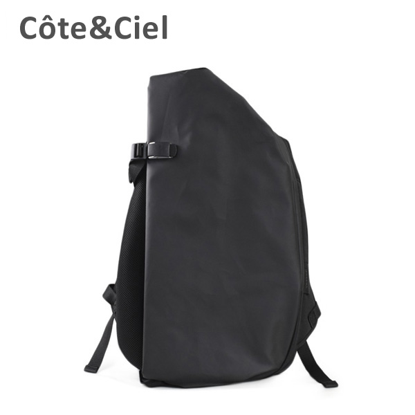 cote&ciel コートエシエル Isar M Sport 28620 Obsidian Black バッグ リュック バックパック メンズ レディース コートアンドシエル 【送料無料(※北海道・沖縄は1,000円)】