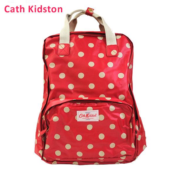 CathKidston キャスキッドソン Cath Kidston リュック バックパック BackPack トラベルバッグ 417112 パソコン収納 マット加工 ドット レディース お買い得 送料無料でお届けします