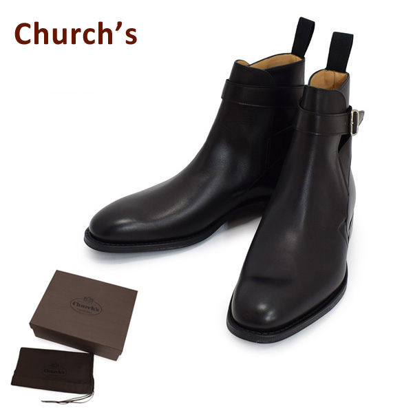 チャーチ メンズ ETB003-9WF-F0AAB Church's BLETSOE ブラック ブーツ 靴 【送料無料(※北海道・沖縄は1,000円)】