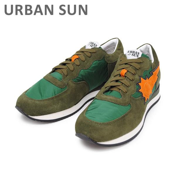 アーバンサン スニーカー ALAIN 102 グリーン URBAN SUN メンズ レディース シューズ 靴 【送料無料(※北海道・沖縄は1,000円)】