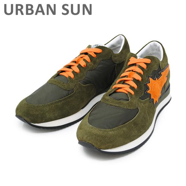 アーバンサン スニーカー ALAIN 103 オリーブ URBAN SUN メンズ レディース シューズ 靴 【送料無料(※北海道・沖縄は1,000円)】