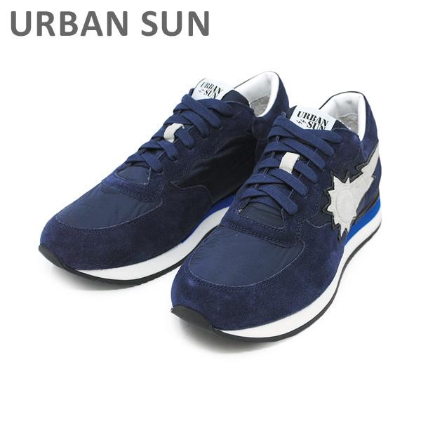 アーバンサン スニーカー ALAIN 104 ネイビー URBAN SUN メンズ レディース シューズ 靴 【送料無料(※北海道・沖縄は1,000円)】