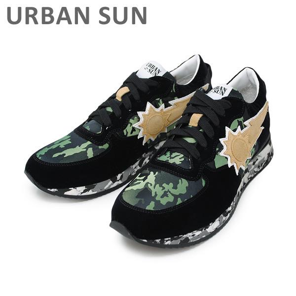 アーバンサン スニーカー ANDRE 123 ブラック/カモ URBAN SUN メンズ レディース シューズ 靴 【送料無料(※北海道・沖縄は1,000円)】