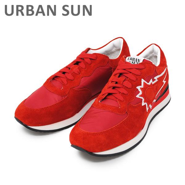 アーバンサン スニーカー DORIS 110 レッド URBAN SUN レディース シューズ 靴 【送料無料(※北海道・沖縄は1,000円)】