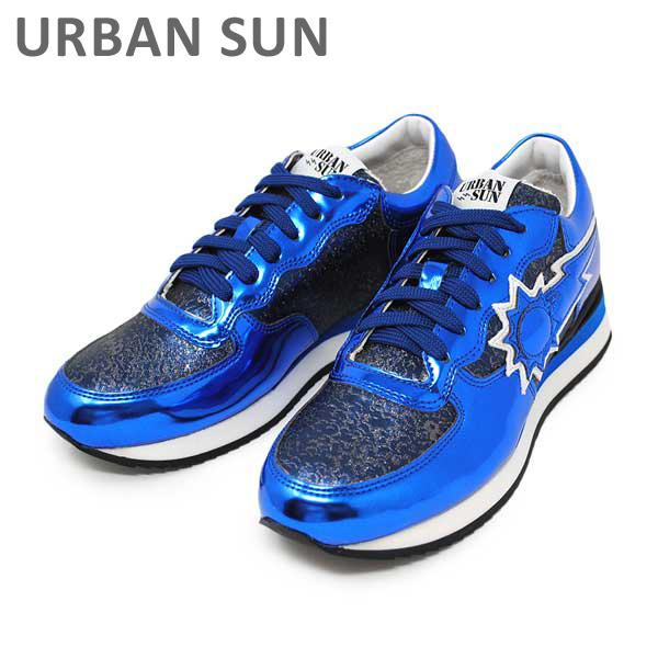 アーバンサン スニーカー DORIS 114 メタリッブルー URBAN SUN レディース シューズ 靴 【送料無料(※北海道・沖縄は1,000円)】