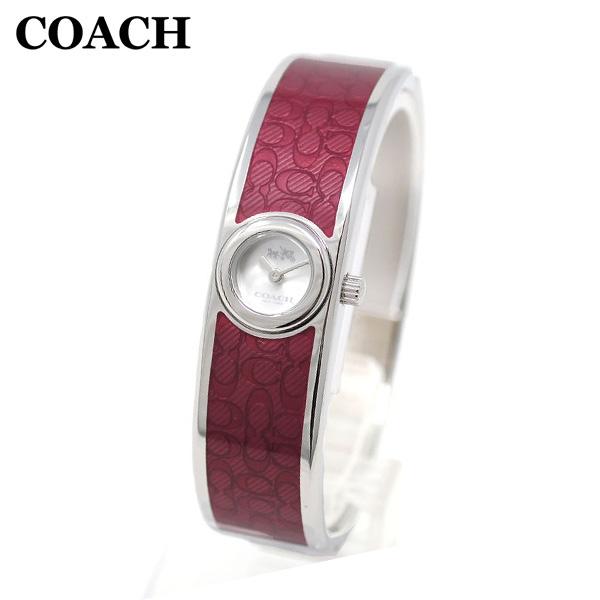 コーチ 腕時計 レディース 14502621 COACH SCOUT スカウト シルバー/レッド バングル 時計 ウォッチ 【送料無料(※北海道・沖縄は1,000円)】