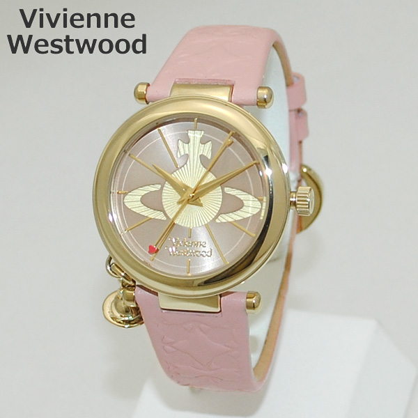Vivienne Westwood (ヴィヴィアンウエストウッド) 腕時計 VV006PKPK ORB 時計 レディース ヴィヴィアン タイムマシン 【送料無料(※北海道・沖縄は1,000円)】