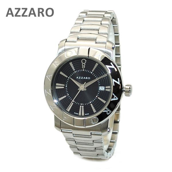 AZARRO (アザロ) 腕時計 AZ3460.12BM.000 Heritage Black / Metal ブラック シルバー 時計 メンズ ブレス 【送料無料(※北海道・沖縄は1,000円)】