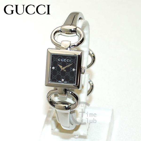 GUCCI(グッチ) 時計 腕時計 YA120516 シルバー/ブラック レディース バングル 【送料無料(※北海道・沖縄は1,000円)】