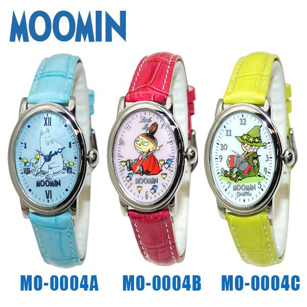 MOOMIN(mumin)钟表手表表MO-0004A mumin MO-0004B ritorumii MO-0004C餐巾