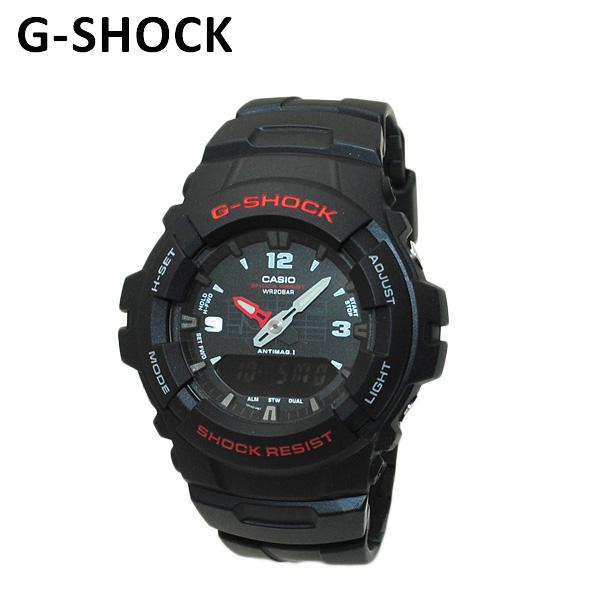 【国内正規品】 CASIO(カシオ) G-SHOCK(Gショック) G-100-1BMJF 時計 腕時計 【送料無料(※北海道・沖縄は1,000円)】