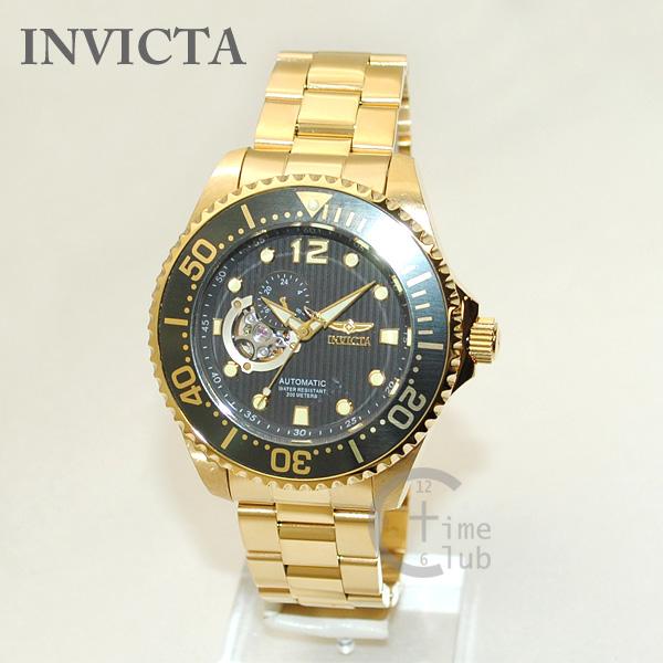 インビクタ 腕時計 INVICTA 時計 15399 Pro Diver ゴールド/ダークグレー メンズ ブレス インヴィクタ 【送料無料(※北海道・沖縄は1,000円)】