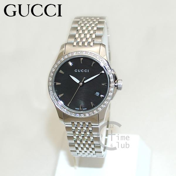 GUCCI(グッチ) 時計 腕時計 YA126507 シルバー/シェルブラック レディース ブレス 【送料無料(※北海道・沖縄は1,000円)】
