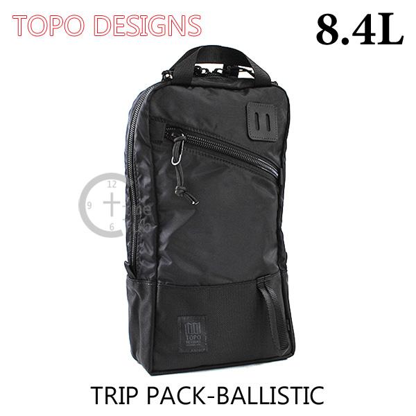TOPO DESIGNS (トポ デザイン) バッグ TRIP PACK TDTP014BB バックパック タブレット収納 リュック 黒 ブラック バリスティックナイロン メンズ レディース 【送料無料(※北海道・沖縄は1,000円)】