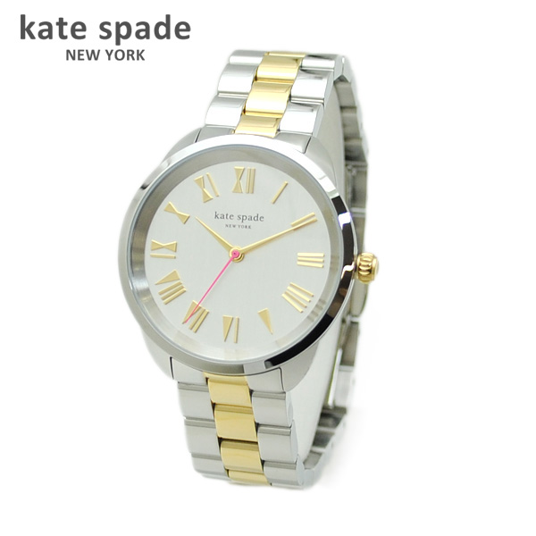 kate spade (ケイトスペード) 時計 腕時計 KSW1062 シルバー/ゴールド コンビ CROSSTOWN クロスタウン ブレス レディース 【送料無料(※北海道・沖縄は1,000円)】