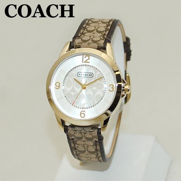 COACH (コーチ) 腕時計 14501613 クラシック シグネチャー ゴールド レディース 時計 ウォッチ 【送料無料(※北海道・沖縄は1,000円)】