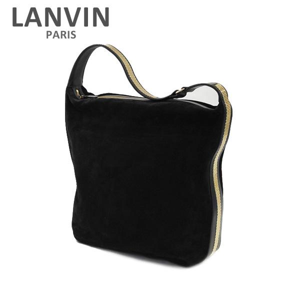 LANVIN PARIS (ランバン パリス) Medium Hobo Bag バッグ LW-BGER01-SONE-E17 10 BLACK レディース ショルダーバッグ 2017SS 【送料無料(※北海道・沖縄は1,000円)】