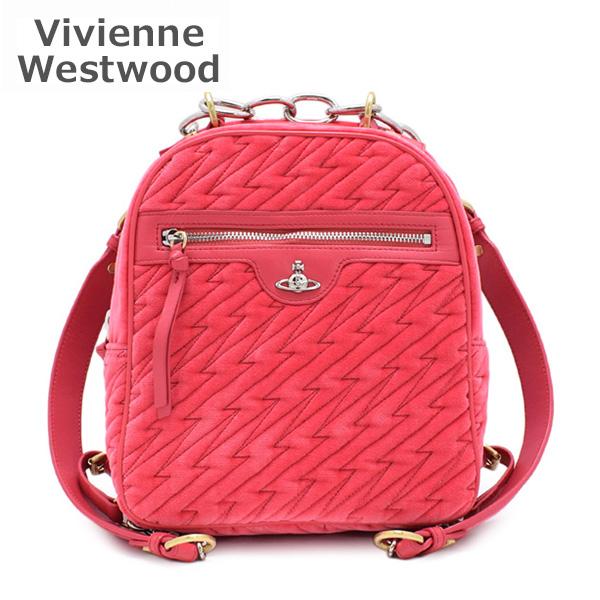 AW2019-20 ヴィヴィアンウエストウッド リュック 43010042-10532-G402 ピンク Coventry Backpack レディース 【送料無料(※北海道・沖縄は1,000円)】