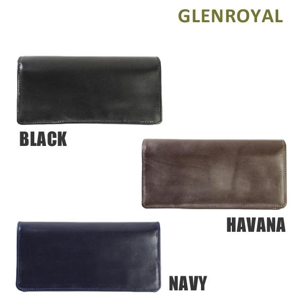 グレンロイヤル 財布 長財布 03 2475 BLACK HAVANA NAVY GLENROYAL ボックスなし ブライドルEDHI92
