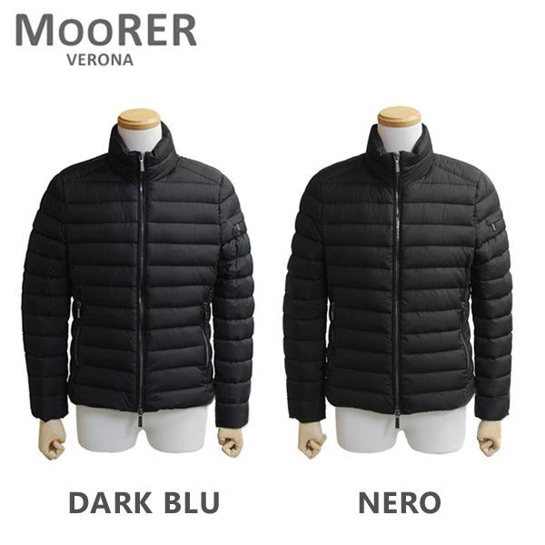 MOORER ムーレー ダウンコート RAY OP NERO ブラック DARK BLU ダークブルー ダウンジャケット メンズ 2016-2017AW 【送料無料(※北海道・沖縄は1,000円)】