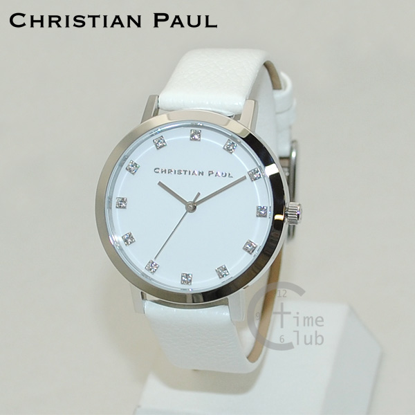CHRISTIAN PAUL クリスチャンポール 時計 腕時計 SWL-03 LUXE COLLECTION 35mm レザー レディース 【送料無料(※北海道・沖縄は1,000円)】