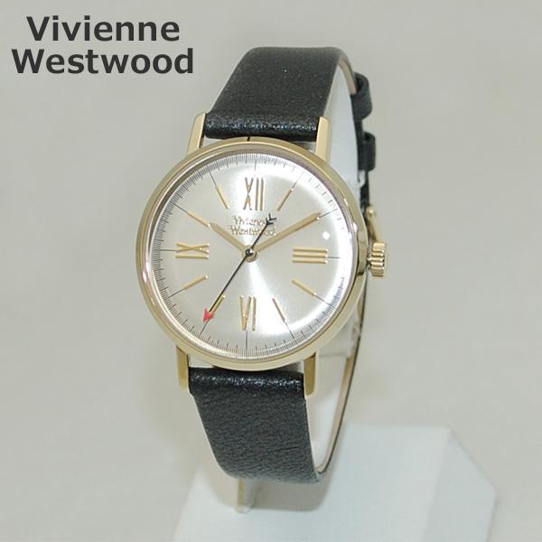 Vivienne Westwood (ヴィヴィアンウエストウッド) 腕時計 VV170GYBK ゴールド/シルバー/ブラック レザー 時計 レディース ヴィヴィアン 【送料無料(※北海道・沖縄は1,000円)】