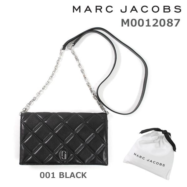 MARC JACOBS (マークジェイコブス) 長財布 M0012087 001 BLACK 斜めがけ ショルダー 【送料無料(※北海道・沖縄は1,000円)】