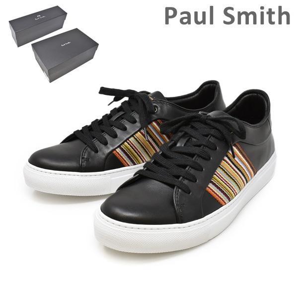 ポールスミス 靴 M1S IVO06 ATRI BLACK MULTISTRIPE メンズ シューズ スニーカー PAUL SMITH SHOE 【送料無料(※北海道・沖縄は1,000円)】