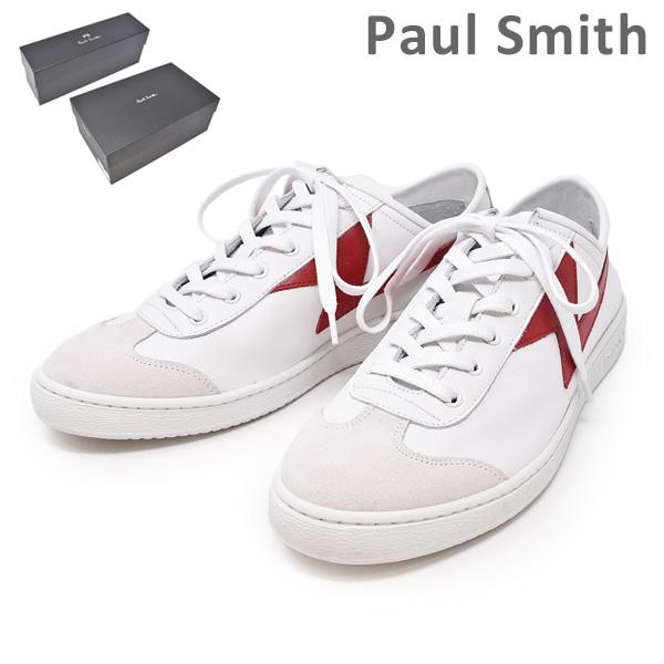 ポールスミス 靴 M2S ZIG03 ASET ZIGGY RED WHITE LIGHTNING メンズ シューズ スニーカー PAUL SMITH SHOE 【送料無料(※北海道・沖縄は1,000円)】