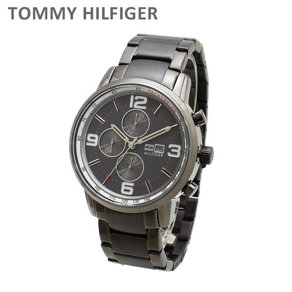 トミーヒルフィガー 腕時計 1710339 ブレス ガンメタル メンズ TOMMY HILFIGER 【送料無料(※北海道・沖縄は1,000円)】