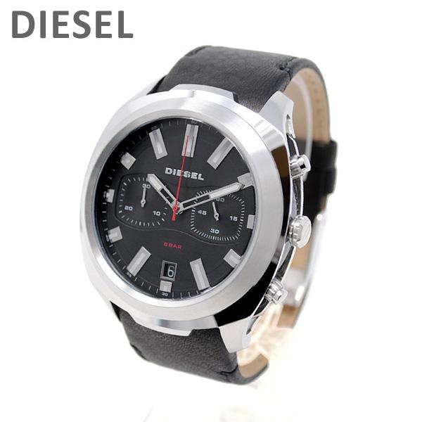 ディーゼル 腕時計 DZ4499 タンブラー ブラック レザー メンズ DIESEL 時計【送料無料(※北海道・沖縄は1,000円)】