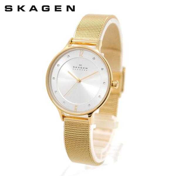 スカーゲン 腕時計 SKW2150 SKAGEN ANITA 時計 時計 時計 レディース ウォッチ ゴールド ブレス 【送料無料(※北海道・沖縄は1,000円)】 382