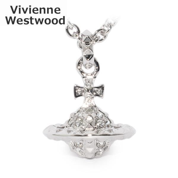 Vivienne Westwood (ヴィヴィアンウエストウッド) ペンダント ネックレス 63020051 W110 シルバー アクセサリー レディース 【送料無料(※北海道・沖縄は1,000円)】