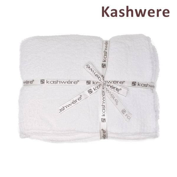 カシウエア 【送料無料(※北海道・沖縄は1,000円)】 T-30-01-52 ホワイト Blankets Throw カシウェア ソリッド ブランケット KASHWERE Solid