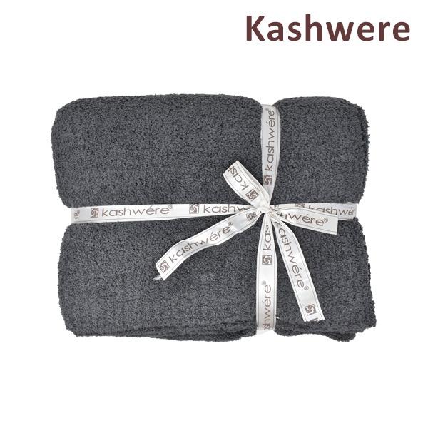 [スーパーSALE価格] カシウエア ソリッド ブランケット Throw Solid Blankets T-30-124-52 スレート KASHWERE カシウェア 【送料無料(※北海道・沖縄は1,000円)】