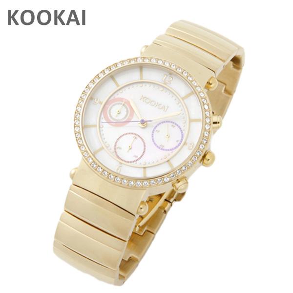 KOOKAi (クーカイ) 腕時計 1624 004 イエローゴールド レディース ウォッチ 時計 【送料無料(※北海道・沖縄は1,000円)】【楽ギフ_包装選択】