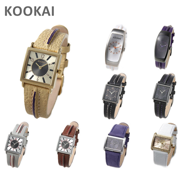 KOOKAi クーカイ セール特別価格 時計 腕時計 ウォッチ レディース 選べる11種類 1610 000円 ※北海道 激安格安割引情報満載 1691 送料無料 1616 沖縄は1 1689