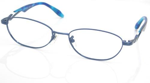 日本製 Nikon レンズ使用 ブルーチタン(L) ニコン 遠近両用メガネ[全額返金保証]乱視 矯正 対応 乱視 遠近両用 メガネ 老眼鏡 おしゃれ 女性用 レディース 中近両用 眼鏡 シニアグラス リーディンググラス